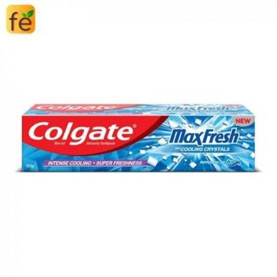 Colgate Toothpaste Maxfresh Peppermint Ice 80 G Blue Gel
